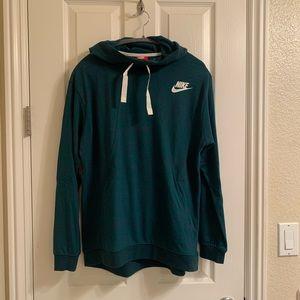 Nike Green pullover hoodie
